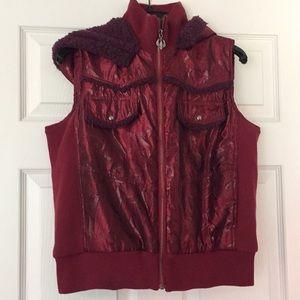 Adiktd Vest with detachable hood